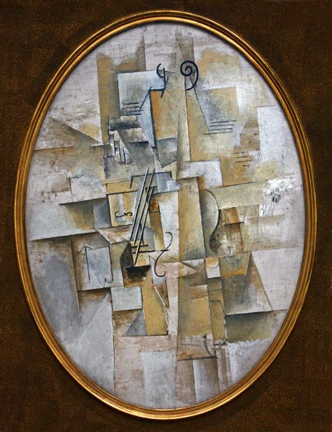 picasso paintings violin file pablo picasso 1911 12 violon violin on