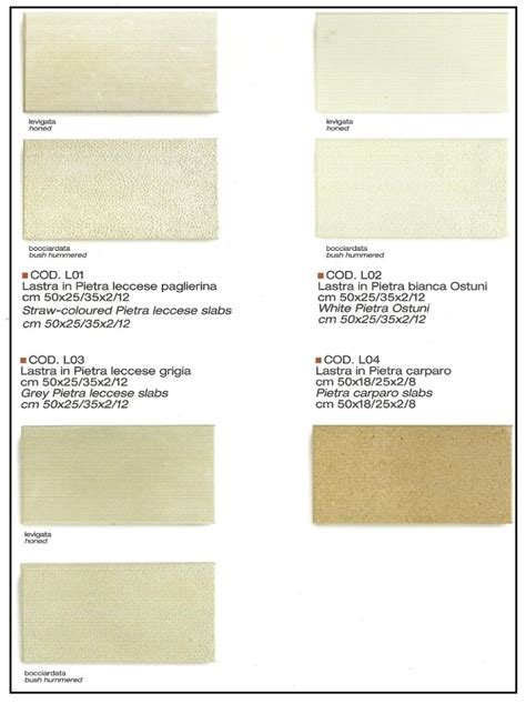 Tonalità Bianco Pareti by La Pietra Leccese Dalle Diverse Tonalit 224 232 Adatta Per