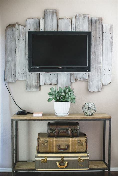 home decor tv wall 9 awesome diy frames for your flatscreen tv architecture