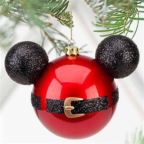 ramblings of a heart momma diy santa mickey mouse ornaments