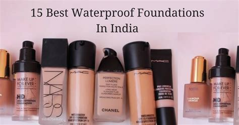 15 Best Waterproof Foundations In India   Fabbon