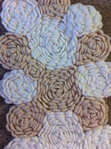 Cream Rose Rug Crochet Rug Pattern Search