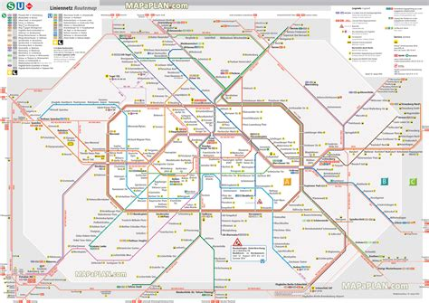 printable maps berlin metro map of