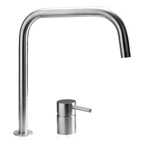 2 Kitchen Taps Buy Mgs F2 Sq 2 Mixer Tap Matt Stainless Steel