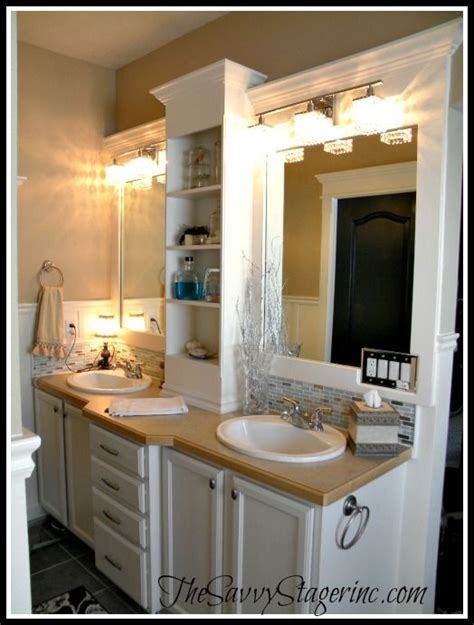 bathroom upgrade ideas best 20 frame bathroom mirrors ideas on