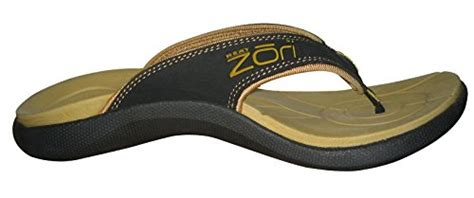 neat feat s zori sport orthotic slip on sandals flip flop mens resort wear and casual