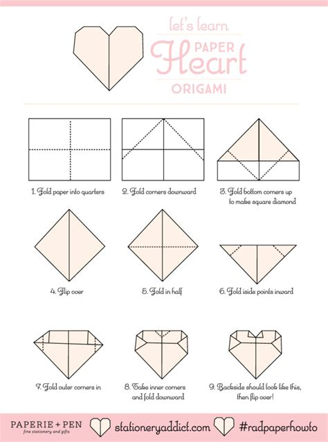 Origami Steps Coloring Pages