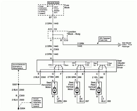 power seat wiring diagram wiring diagram