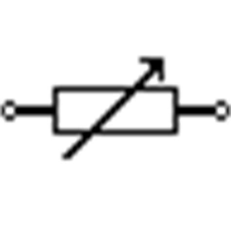 variable resistor electrical symbol electronics gurukulam electric and electronic symbols