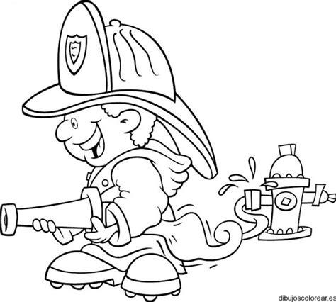 imagenes para colorear bombero dibujos del d 237 a nacional del bombero voluntario para