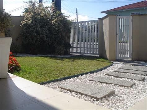 entrada de casas entradas de casas moderna simples pedras veja mais