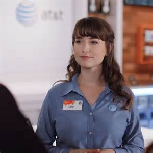 hot pictures of the att girl att lilly at t spies from verizon commercial odds and
