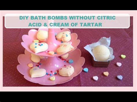 diy bath bombs without citric acid ingredients diy bath bombs without citric acid of tartar