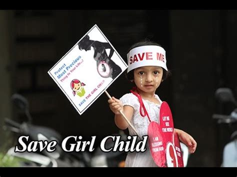 themes on save girl child fancy dress competition save girl child youtube