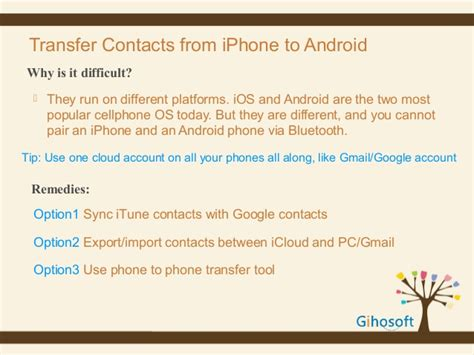 transfer notes from iphone to android how to transfer contacts from iphone to android