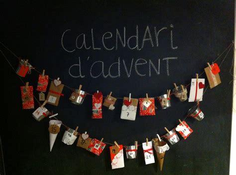 Calendari D Advent Manualitats Manualitats Calendari D Advent Handmade Advent Calendar