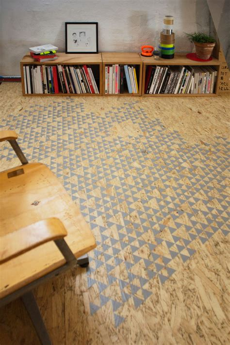 Decke Osb by The Gallery For Gt Stained Osb Floor