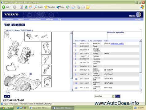 volvo truck parts catalog volvo trucks buses 2006 parts catalog repair manual