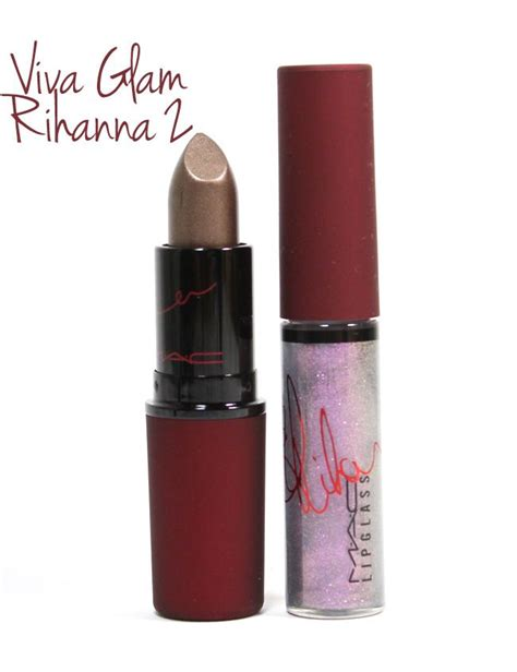 Makeup Kit Viva mac viva glam rihanna 2 other bermudas and colors