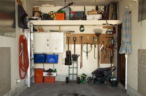 organize  garage   steps
