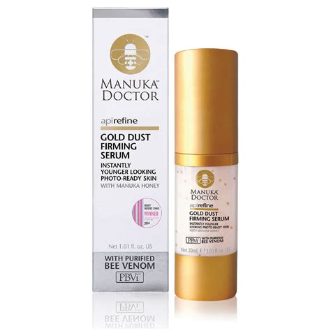 Kiloan Serum Gold Cc manuka doctor apirefine gold dust firming serum 30ml free shipping lookfantastic