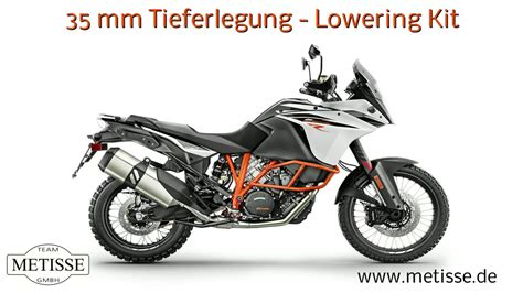 Ktm Tieferlegen by Ktm 1090 Adventure Tieferlegung Lowering Kit