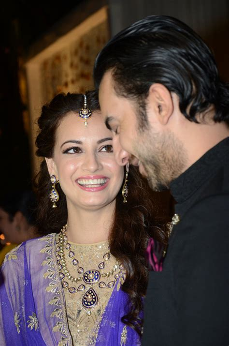 dia mirza dazzles at her sangeet a prelude to her wedding