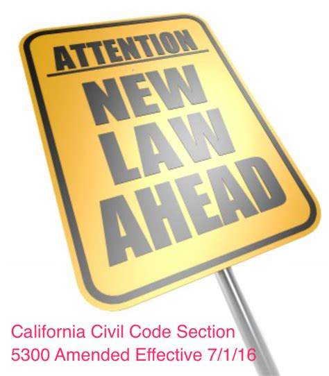 california civil code section 896 civil code 167 5300 amended new fha va disclosures required