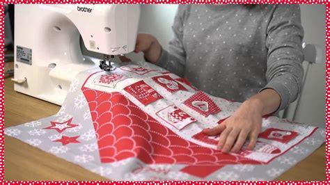 Calendrier De L Avent Original Fait Maison Tuto Couture La Maison Calendrier De L Avent