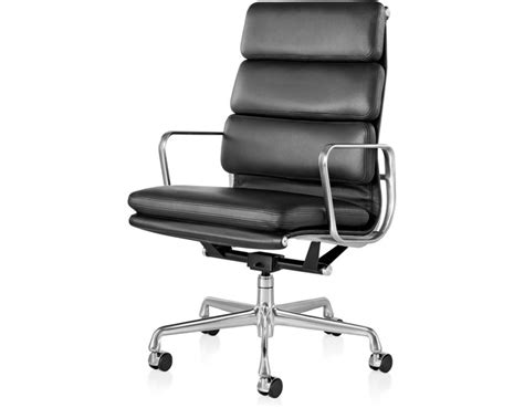 Schultz Upholstery Eames 174 Soft Pad Group Executive Chair Hivemodern Com