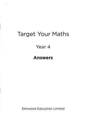 target your maths year 5 elmwood education target your maths year 4 answer book year 4 by stephen pearce waterstones