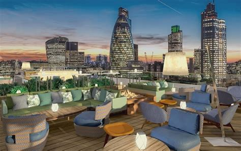 Eclectic Interiors by London S Latest Rooftop Restaurant And Bar Aviary To Open