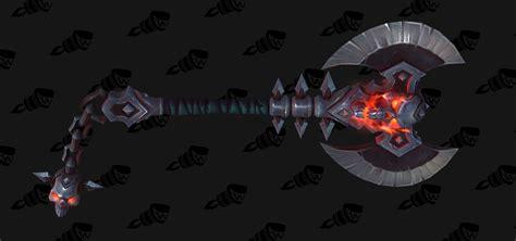 legion artifact weapon skins fury world of warcraft legion artifact weapon