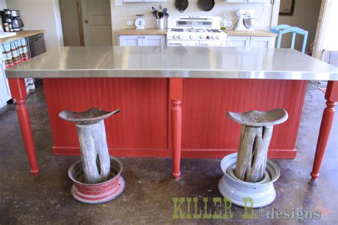 Diy Tractor Seat Stool by Hometalk Rustic Tractor Seat Bar Stools
