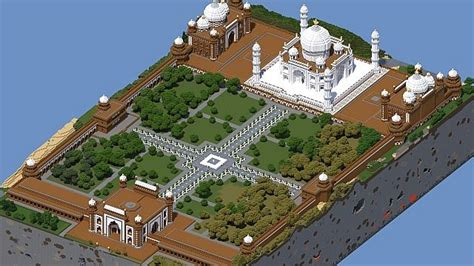 How To Read A Floor Plan Taj Mahal Agra India Minecraft Project