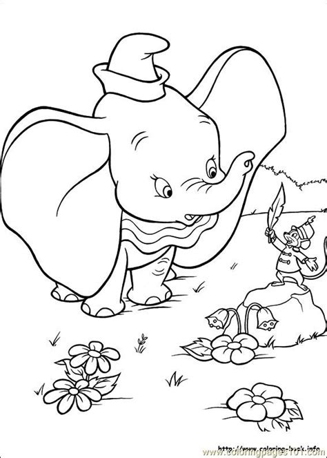 Dumbo Crows Coloring Pages Coloring Pages Dumbo Coloring Pages