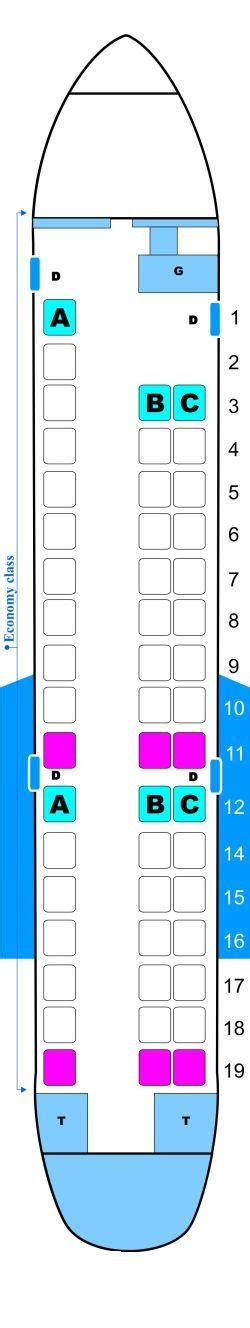 erj 145 seating seat map continental airlines embraer erj 145 seatmaestro