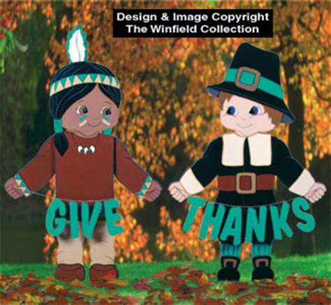 thanksgiving give  woodcraft pattern