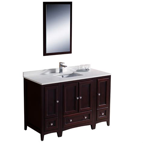 Bathroom Vanity With Side Cabinet Fresca Bath Fvn20 122412mh Bathroom Vanities