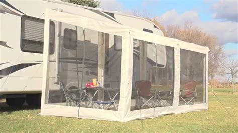 rv awning add a room guide gear add a screen room youtube marvelous add a