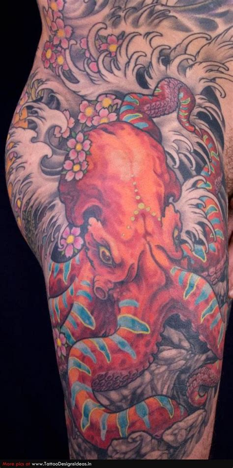 japanese octopus tattoo best 25 octopus design ideas on