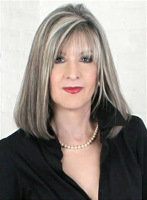 long grey hairstyles women 50 63 stunning long gray hairstyles ideas for women over 50