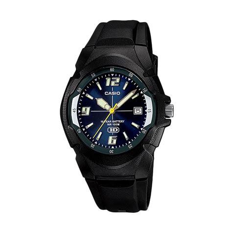 jual casio mw 600f 2avdf jam tangan pria hitam harga kualitas terjamin blibli