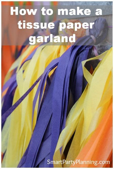 How To Make Tissue Paper Garland - 419 best images about library decor design on