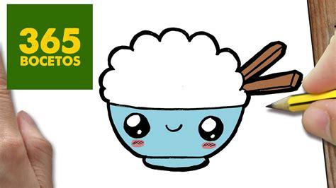 imagenes de bombones kawaii como dibujar arroz kawaii paso a paso dibujos kawaii