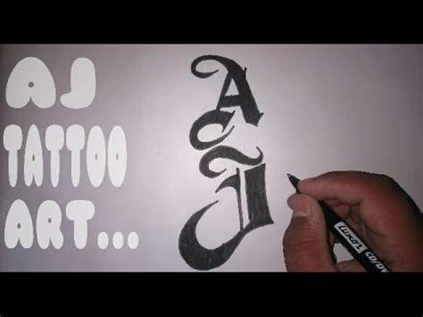aj styles tattoo how to draw superstar aj styles