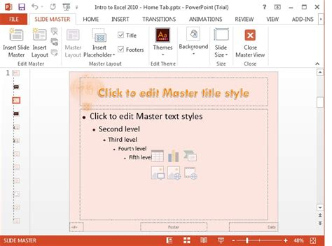 tutorial excel 2013 ppt ms office 2013 powerpoint tutorial learn ms powerpoint