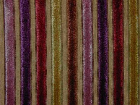 Velvet Stripe Upholstery Fabric Curtain Fabric Upholstery Fabric Velvet Stripe Gold