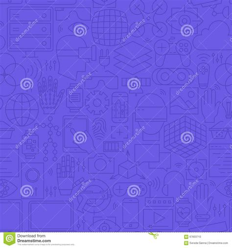 eye pattern website tracking eye icon outline style vector illustration