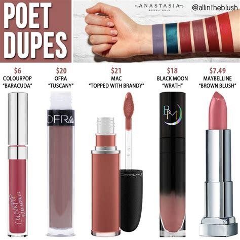 Beverly Liquid Lipstick Apple New beverly poet liquid lipstick dupes